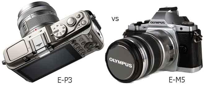 Olympus OM-D hơn gì Olympus PEN E-P3?