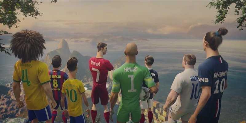 Ấn tượng với quảng cáo World Cup 2014 của Nike