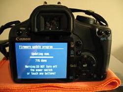 Cập nhật firmware cho máy ảnh số
