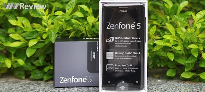 Đập hộp Asus Zenfone 5 phiên bản A501 chính hãng