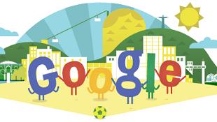 Google tung Doodle sôi động chào mừng World Cup