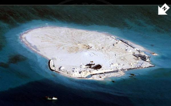 VNREDSAT-1 chụp được đảo Gạc Ma nhưng đó là bí mật quân sự