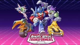 Angry Birds Transformers: Robot biến hình Autobirds và Deceptihogs