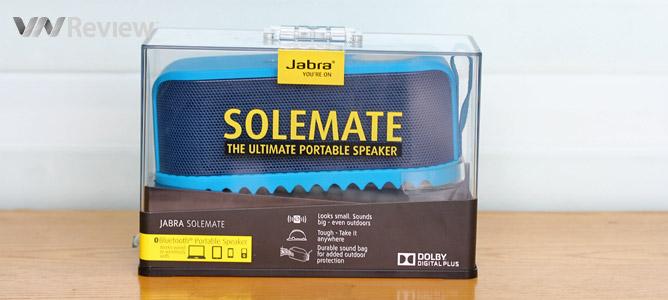 Tặng bạn đọc loa di động Jabra Solemate