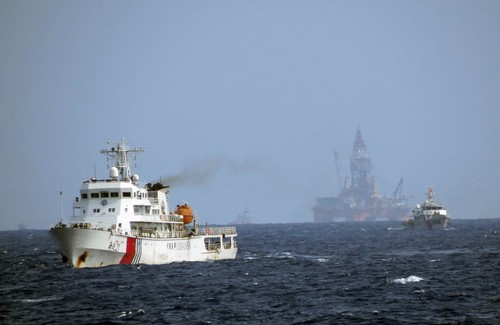 Giàn khoan Hải Dương - 981 lại có dấu hiệu dịch chuyển