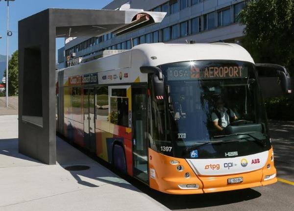 Thụy Sĩ nghiên cứu xe bus chạy điện chỉ cần sạc trong vòng 15 giây