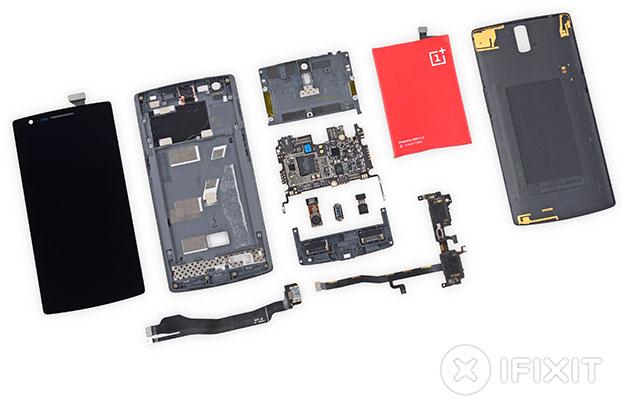 iFixit mổ xẻ OnePlus One: Khó sửa chữa!