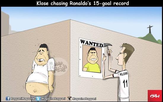 """Klose cân bằng kỷ lục của """"Rô béo"""", dân mạng ngập ảnh chế"""