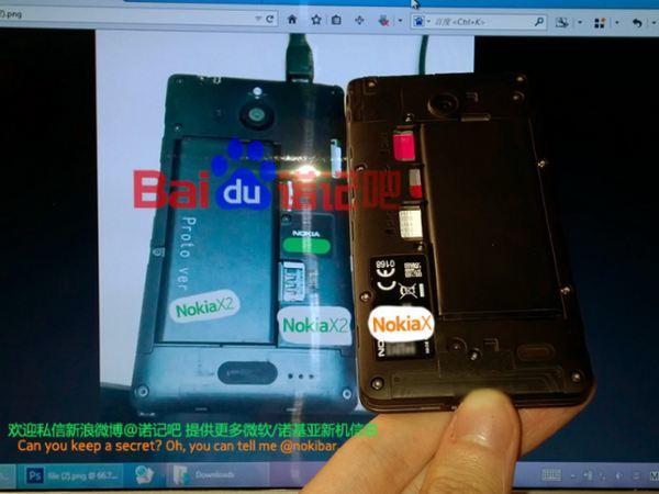 Nokia X2 được bổ sung camera trước và đèn flash cho camera sau
