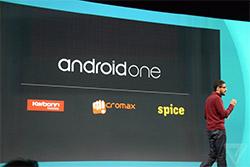 Google giới thiệu Android One giúp sản xuất điện thoại giá rẻ
