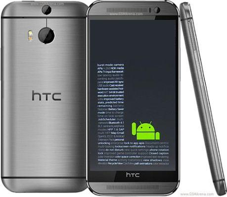 HTC sẽ sớm cập nhật Android L cho dòng One