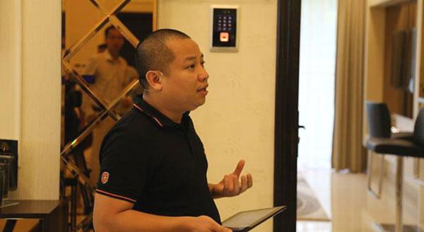 Ông Vũ Thanh Thắng, Phó chủ tịch Bkav phụ trách phần cứng và SmartHome