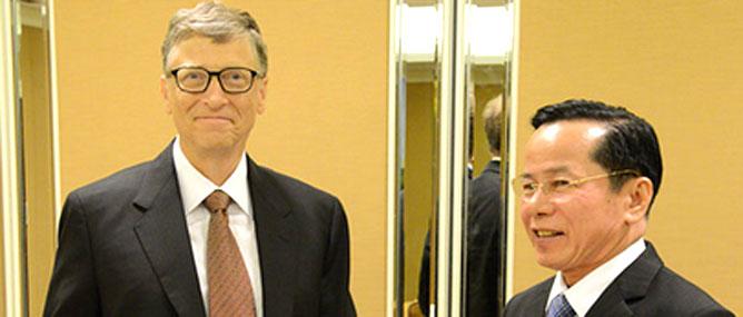 Bill Gates muốn nhà giàu Việt cho đi nhiều hơn nữa