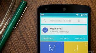Trải nghiệm nhanh Android L trên Nexus 5