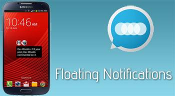 Heads Up! – Mang Floating Notifications của Android L lên các máy Android 4.3 trở lên