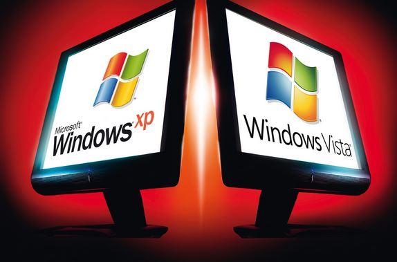 Laptop chuyển từ Windows Vista  sang XP thì bị treo