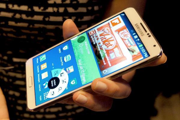 Samsung Galaxy Note 3 cập nhật