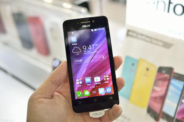 ZenFone màn hình 4.5 inch bán trong tháng này, giá 3 triệu đồng