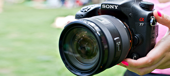 Đánh giá máy ảnh Sony Alpha 77 II
