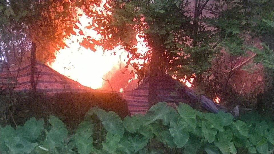 Hình ảnh hiện trường trực thăng quân sự rơi ở Hòa Lạc