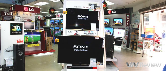 Thông tin cần biết khi mua HDTV Sony