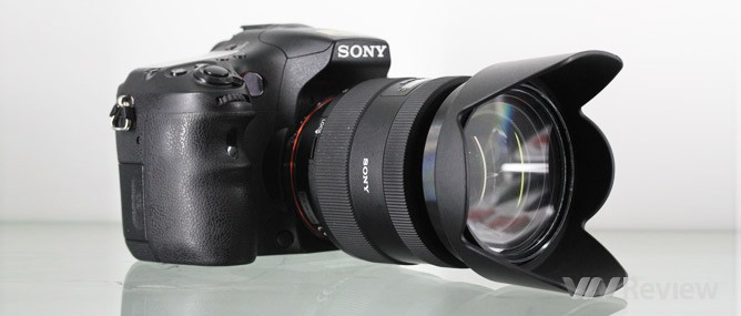 Đánh giá máy ảnh số Sony Alpha SLT-A77