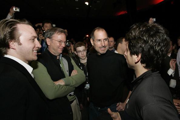 CEO Google mỉa mai lời chỉ trích của Steve Jobs