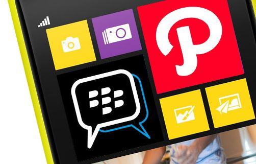 BBM chính thức có mặt trên Windows Phone Store