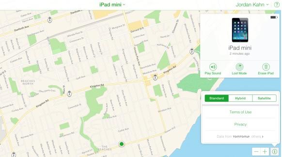 2 năm sau khi ngừng sử dụng Google Maps làm ứng dụng bản đồ mặc định trên iOS, Apple đã gỡ bỏ dịch vụ bản đồ này khỏi Find My iPhone – một trong số ít những ứng dụng Apple vẫn còn dùng tới Google Maps.