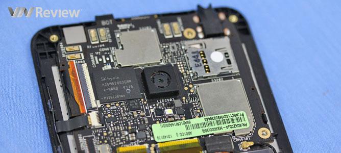 VnReview mổ điện thoại Asus Zenfone 5 chính hãng