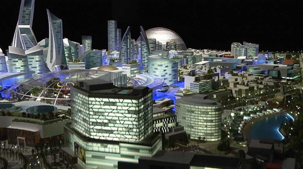 Dubai xây dựng thành phố có thể kiểm soát khí hậu