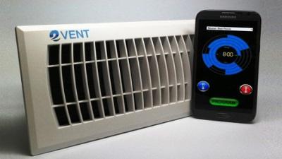 Điều khiển cửa gió điều hòa bằng smartphone