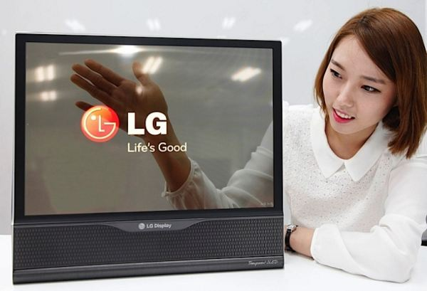 LG trình diễn màn hình 18 inch cực dẻo, sắp ra mắt TV 60 inch màn hình dẻo, trong suốt