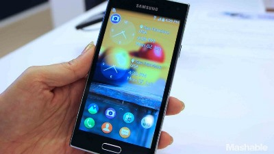 Samsung lại trì hoãn smartphone Tizen