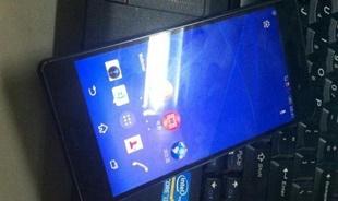 Sony Xperia Z3 lộ ảnh thực tế: Không có gì đặc biệt