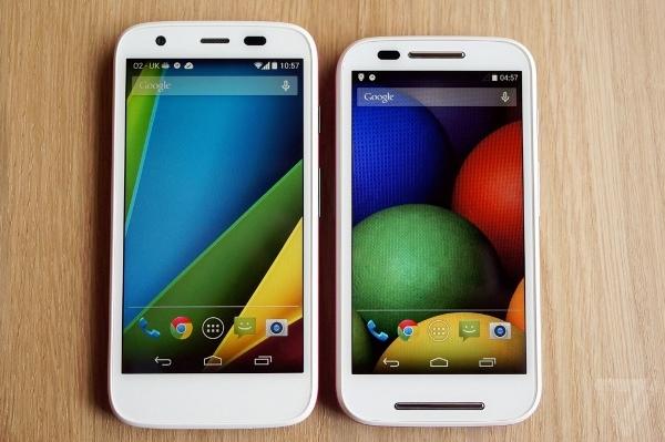 Moto G Moto E Android L cập nhật