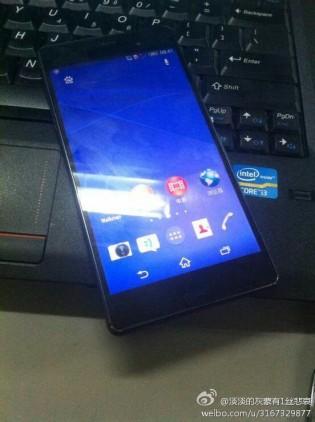 Xperia Z3 có kích cỡ tương đương Samsung Galaxy Note