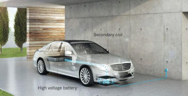 BMW hợp tác tới Mercerdes chế tạo sạc không dây cho ô tô điện