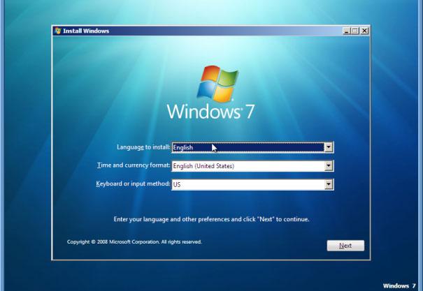 Nâng cấp máy tính bàn từ Windows XP lên Windows 7