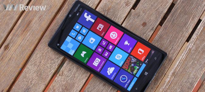 Trên tay Lumia 930 chính hãng