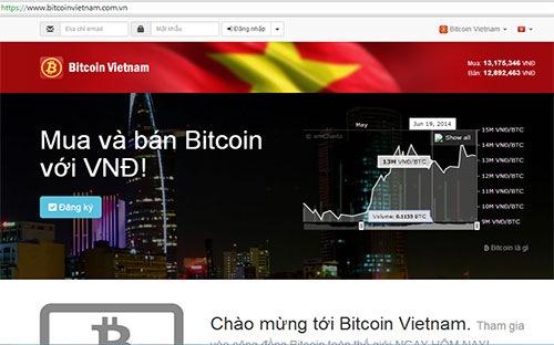 """Sàn giao dịch Bitcoin """"ngang nhiên"""" ra mắt tại Việt Nam"""