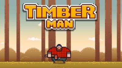 Giới thiệu Timberman: trò chơi gây nghiện mới