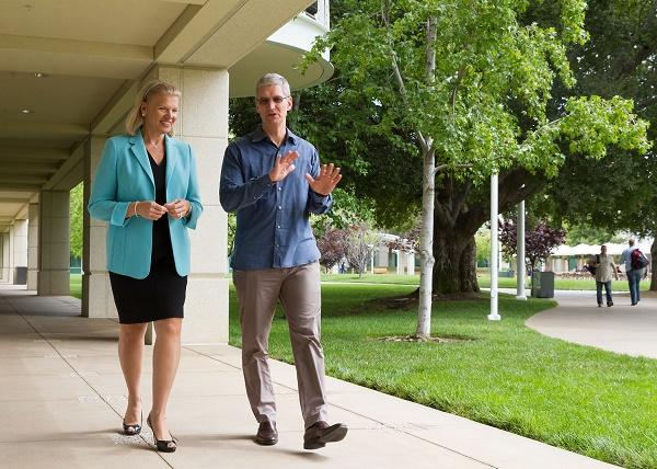 Từng một thời nâng đỡ cho Microsoft đến với thành công, IBM sẽ trở thành đối tác lớn nhất của Apple khi chinh phục thị trường ứng dụng doanh nghiệp.
