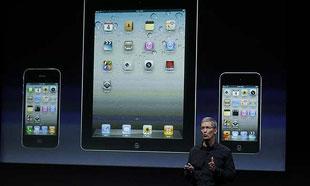 CEO Apple ca ngợi iPad, dìm hàng đối thủ