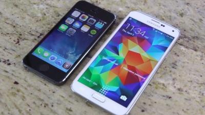 Doanh số Galaxy S5 thua xa iPhone 5s và Galaxy S4