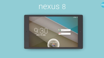 Video Nexus 8 tuyệt đẹp chạy Android L