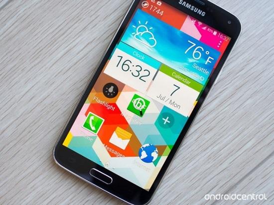 Sử dụng chức năng Easy Mode trên Galaxy S5