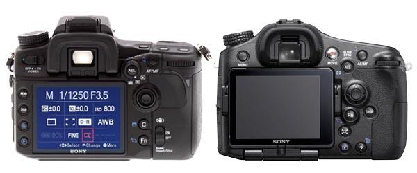 Sony A700 vs A77