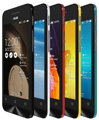 ASUS Zenfone 4 phiên bản 4.5 inch có giá 2,79 triệu đồng