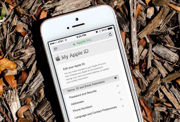 xác thực 2 bước Apple id